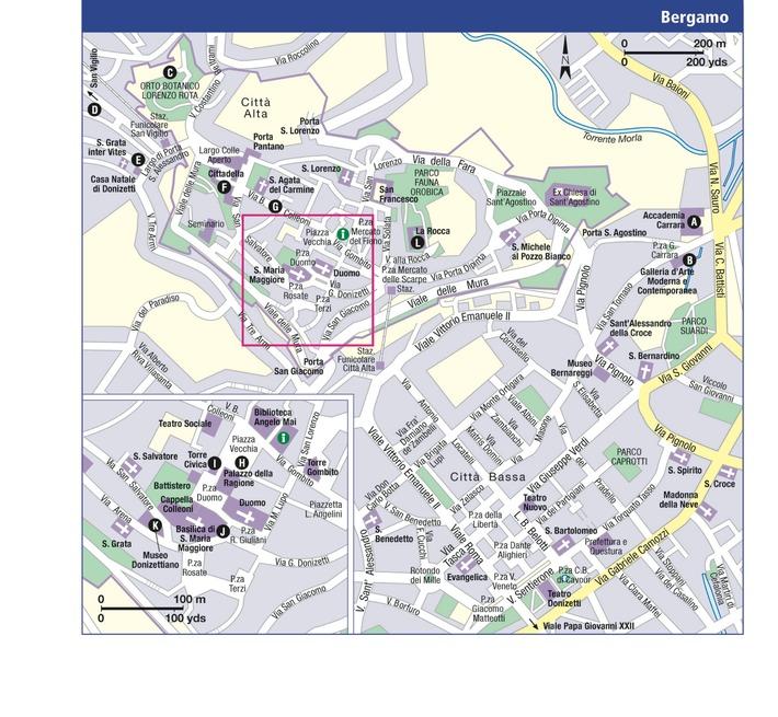 b a s bergamo italy map - photo#1